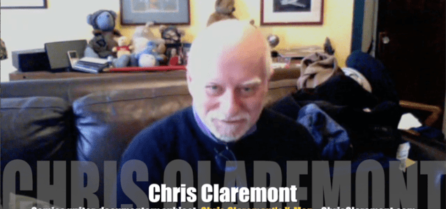 "Today's Guest: Chris Claremont, comic book writer, ""The X-Men""     Watch this exclusive Mr. Media interview with Chris Claremont by clicking on the video player above!  Mr. Media is..."