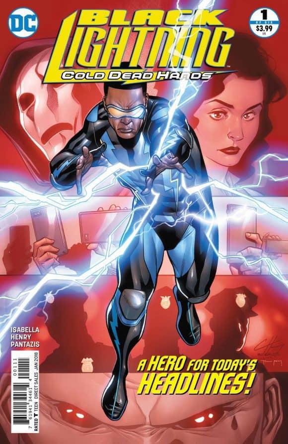 """""""Black Lightning: Cold Dead Hands"""" #1 by Tony Isabella, Mr. Media Interviews"""