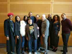 """Tony Isabella, Cress Williams and the cast of The CW's """"Black Lightning,"""" Mr. Media Interviews"""