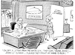Tampa Tribune editorial cartoon by Wayne Stayskal