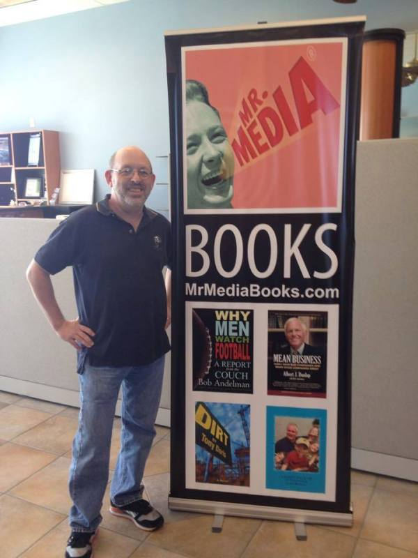 Bob Andelman, Mr. Media Books, 2014 Tampa Bay TImes Festival of Reading, USF-St. Petersburg campus