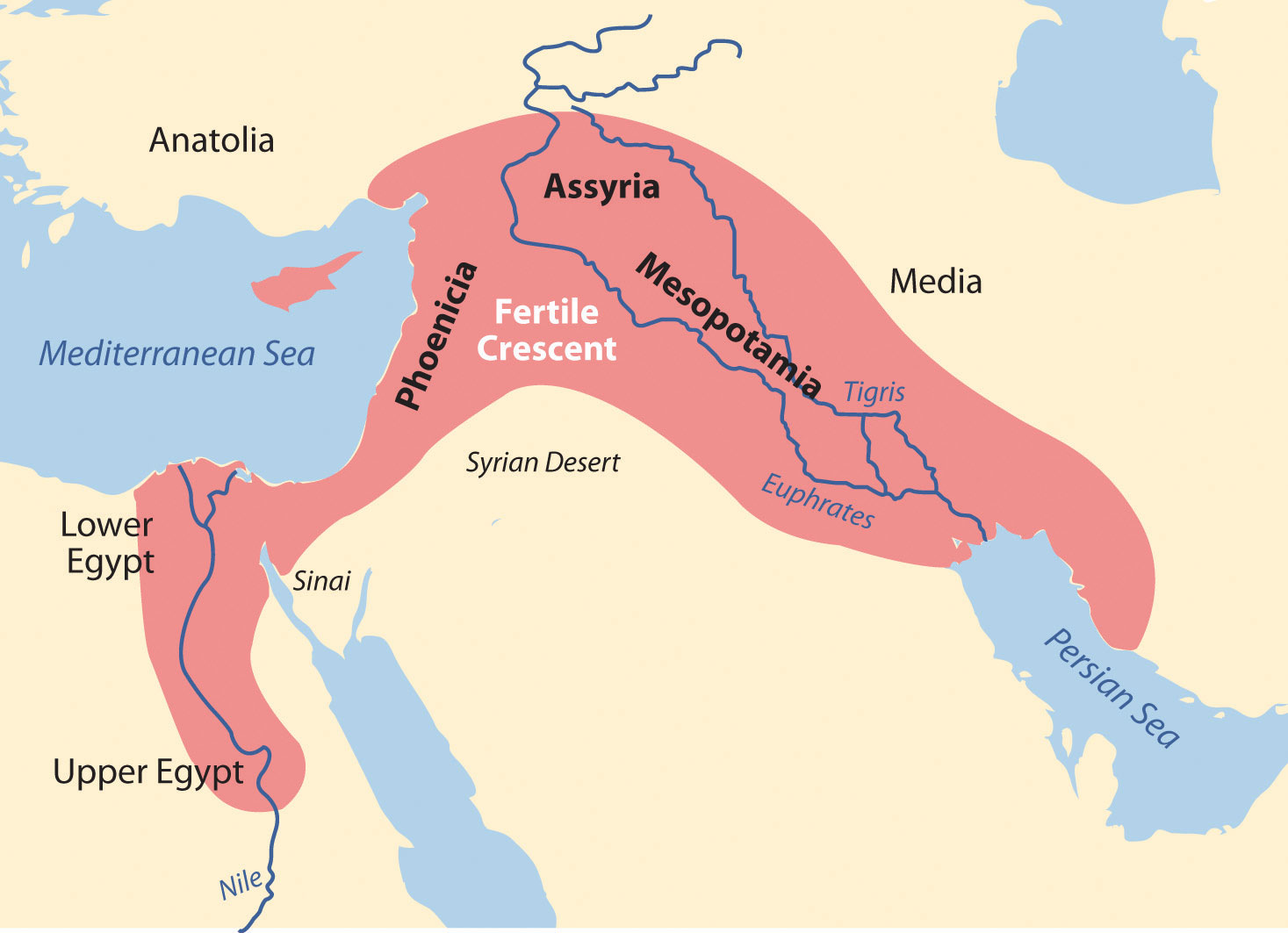 The Fertile Crescent Mesopotamia