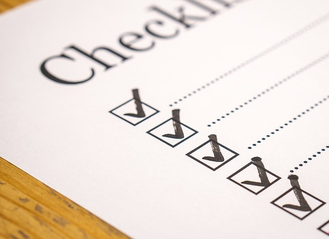 End of Lease Cleaning Checklist