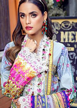 Viva Luxury Lawn Anaya By Kiran Chaudhry 2021 - Original