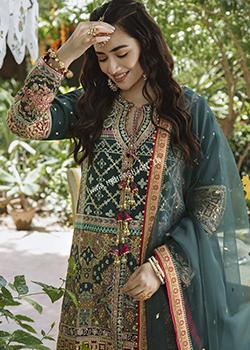 Qalamkar Shadmani Luxury Formals 2021 - Original
