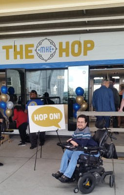 mr milwaukee at the hop launch