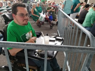 A Stint in Irish Fest Jail