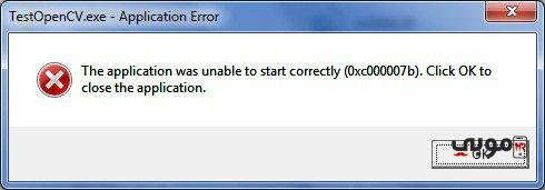 the application was unable to start correctly 0xc00007b windows 10 64 bit حل مشكلة