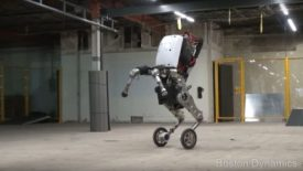 The Future of Robotics – 'Handle' and it's a Five-Star Athlete (VIDEO)