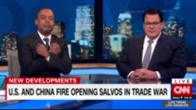 Mo'Kelly on CNN International – #WakandaForever * Trump Trade Tariffs * McPlaymate * (VIDEO)