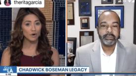 Mo'Kelly on FOX11 Los Angeles on the Passing of #ChadwickBoseman (VIDEO)