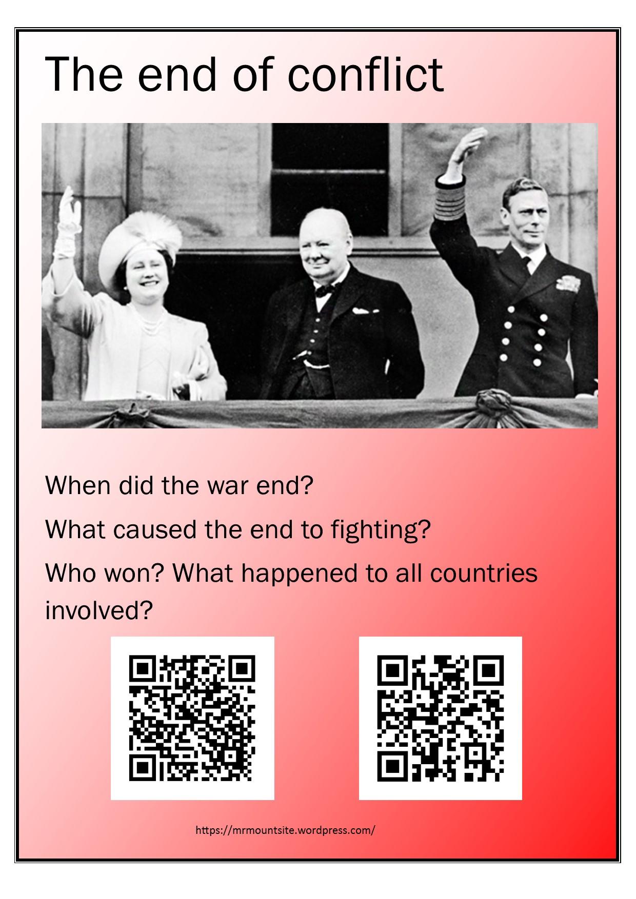 World War Ii Posters With Qr Codes Mrmountsite