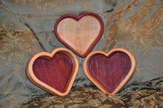 Purpleheart and Hard Maple.