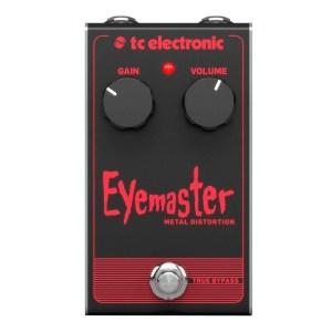 TC ELECTRONIC EYEMASTER METAL DISTORTION