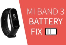 miband3 battery fix