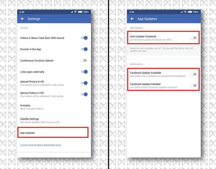 How to stop auto-updates on Facebook, Messenger & Instagram