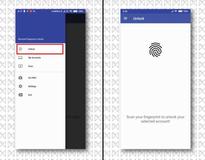 unlock windows android fp 8