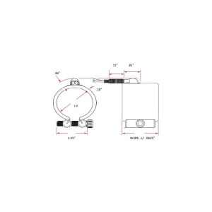 WATLOW MB01A1JX3073 Nozzle heater, Band heater