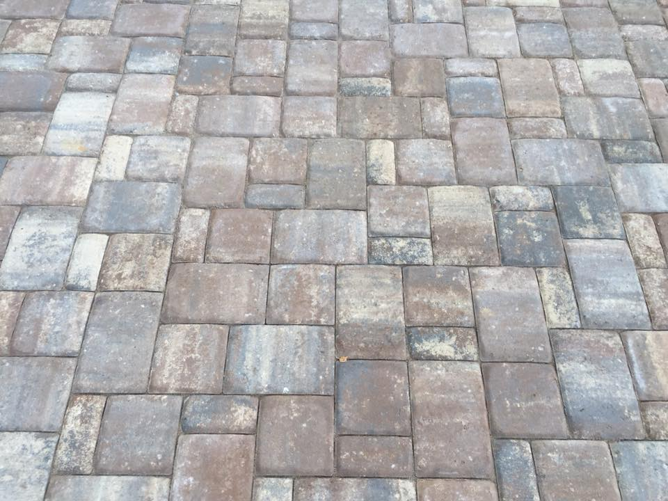 3-piece Paver Patio 1