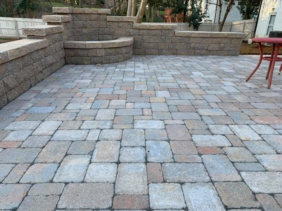 Belgard Fossil patio