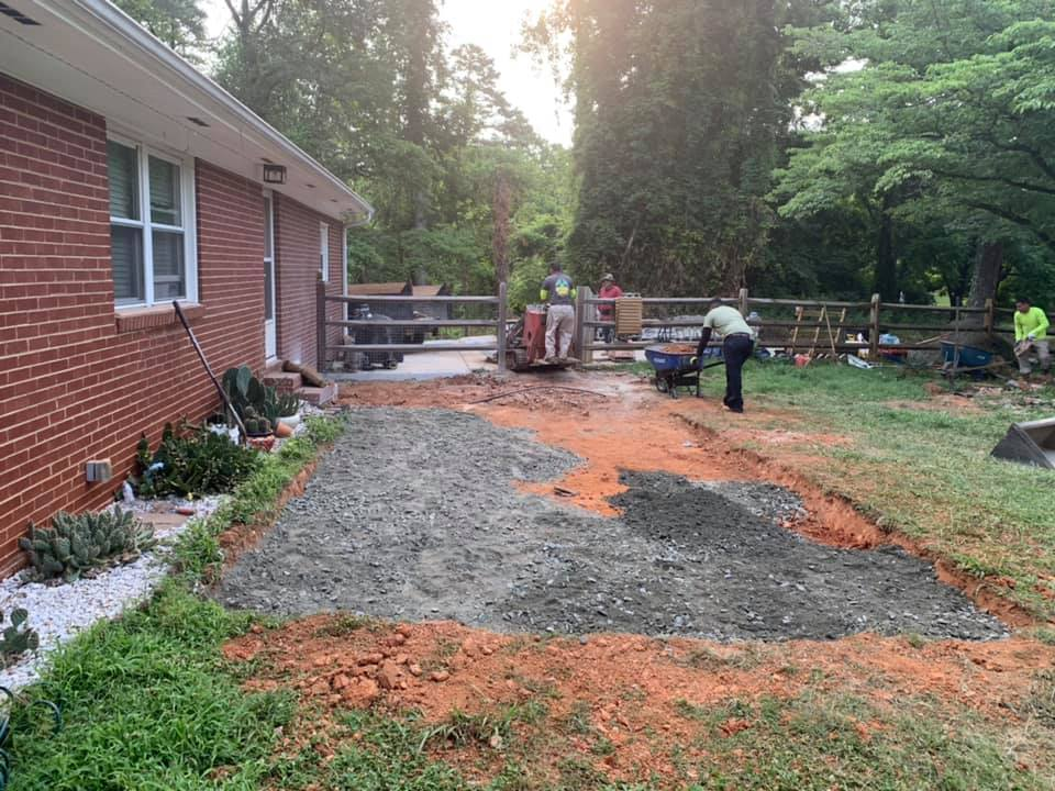 New Paver Patio