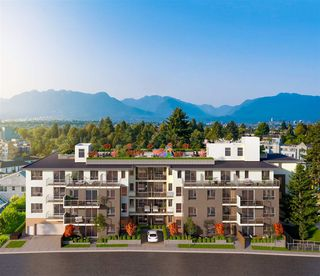 """Photo 2: 105 4933 CLARENDON Street in Vancouver: Collingwood VE Condo for sale in """"CLARENDON HEIGHTS"""" (Vancouver East)  : MLS®# R2528969"""