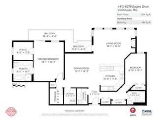 """Photo 15: 412 6279 EAGLES Drive in Vancouver: University VW Condo for sale in """"REFLECTIONS"""" (Vancouver West)  : MLS®# R2308168"""