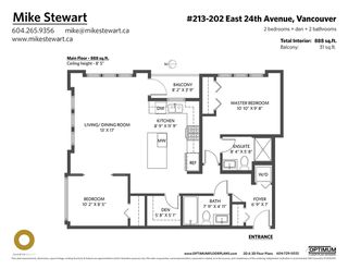 """Photo 40: 213 202 E 24TH Avenue in Vancouver: Main Condo for sale in """"Bluetree Homes on Main"""" (Vancouver East)  : MLS®# R2487814"""
