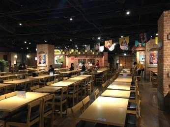 J-World Restaurant - Not pictured: Super Saiyan Chicken
