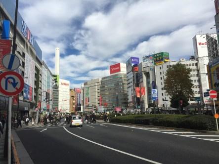 View from Ikebukuro Station