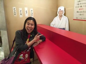 Hanging out at Ichiraku Ramen