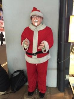 Ho ho ho! Want some KFC?