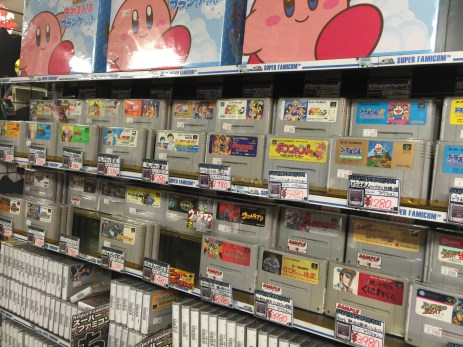 Super Famicom and Kirby!