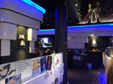 A video played Gundam clips and songs throughout. Great cafe!