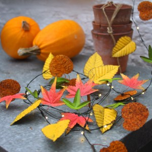 Gardening Presents: Autumn Leaves Lights