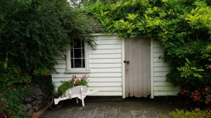 The cost of gardening: Install a shed
