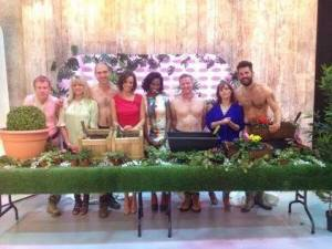 Michael Perry (Mr Plant Geek) Naked Gardening on Loose Women