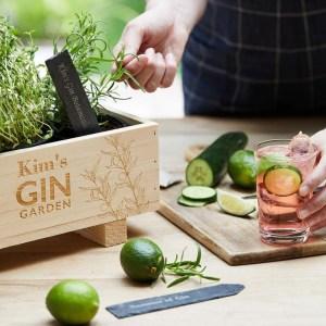 Gin Botanical Garden Gift set from Not on the High Street