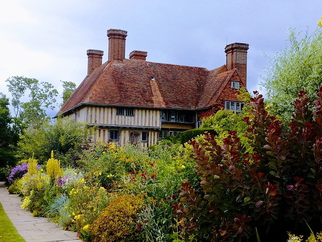 House and garden at Great Dixter