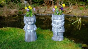 QVC gardening highlights: Mr and Mrs Gnome Planters