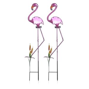 Garden lighting: Flamingo stake lighting