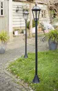 Luxform lamppost - garden lighting