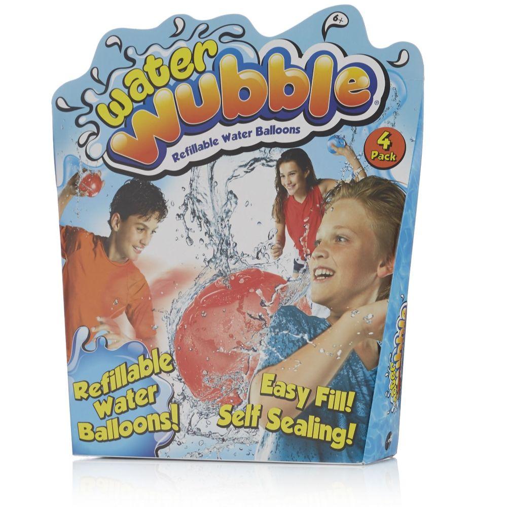 Refillable water balloons