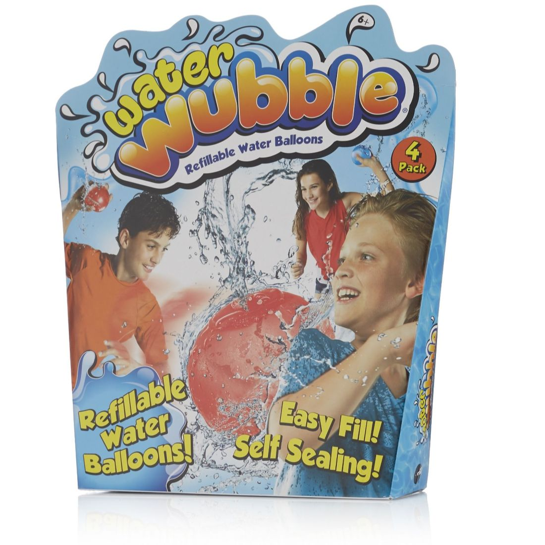 Refillable water balloons