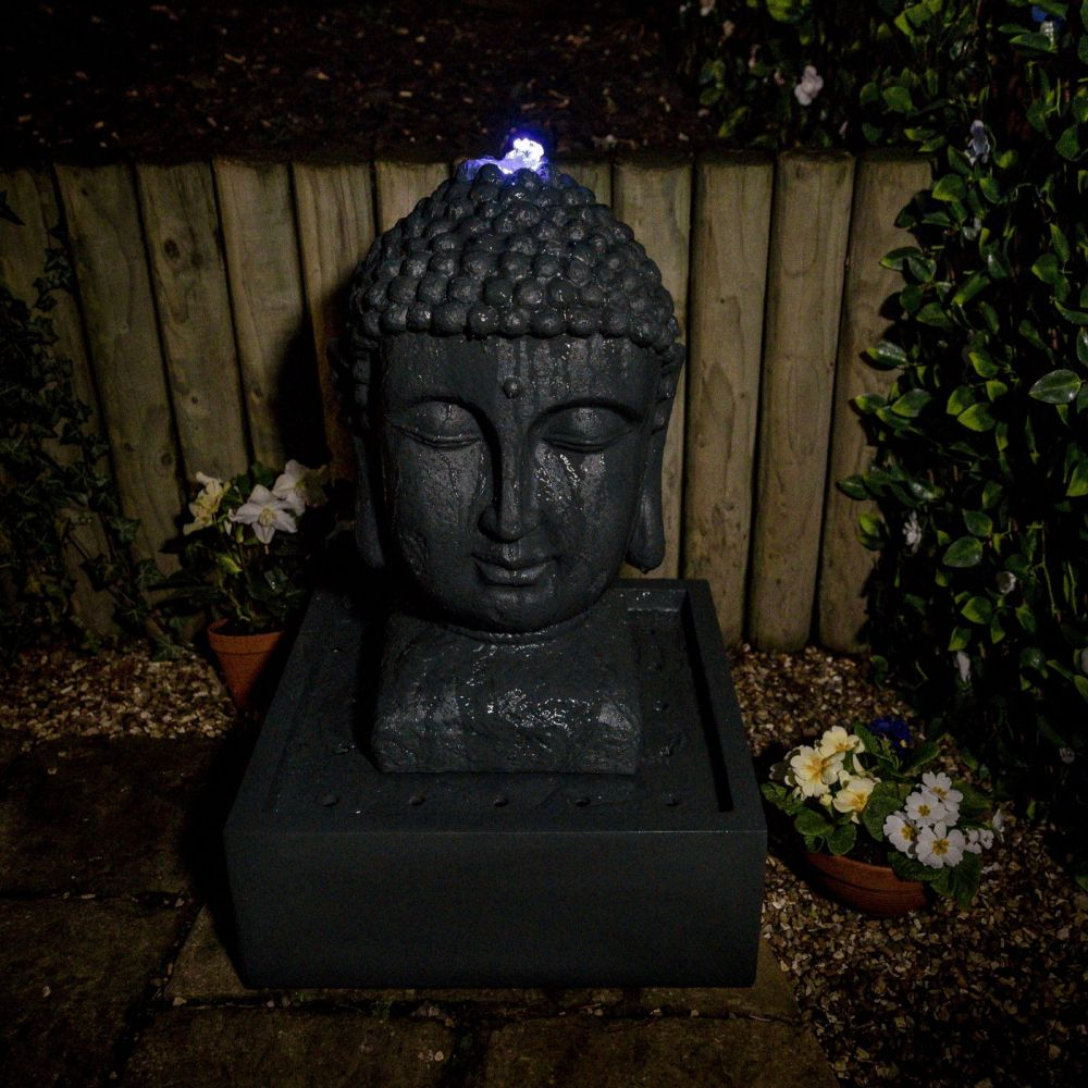 Buddha water feature