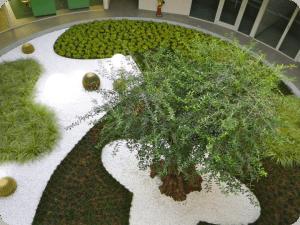 Corporate communal gardens