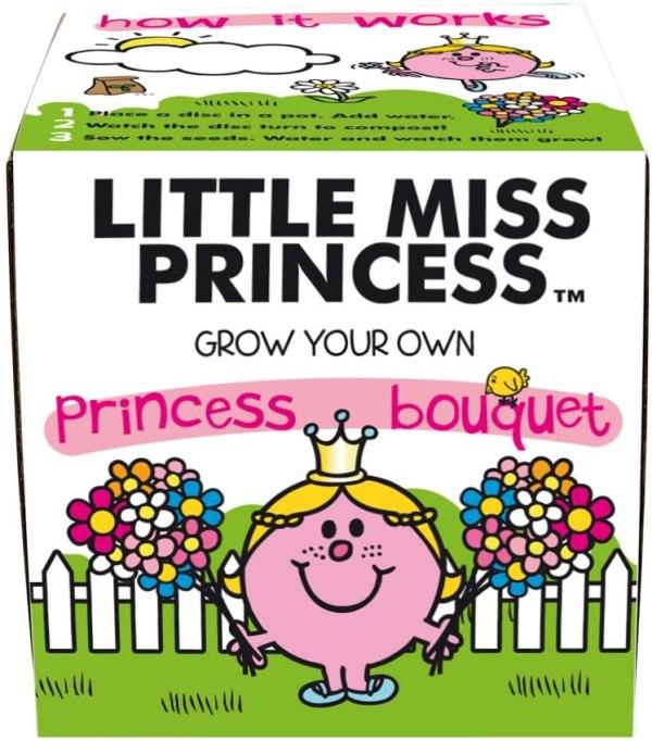 Little Miss Princess Bouquet Grow Kit