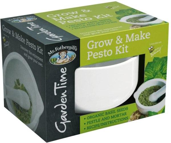 Grow & Make Pesto Kit