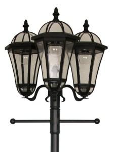 Luxform Kensington Lamp Post