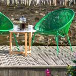 Five ways to make the most of your garden deck in autumn and winter